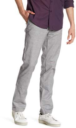 Vince Camuto Slim Fit Cuffed Plaid Pants