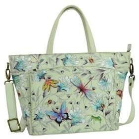 Anuschka Floral Large Leather Tote