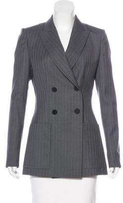Pallas Wool Peak-Lapel Blazer