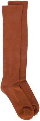 Rick Owens knee high socks