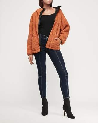 Express Cozy Hooded Fleece Jacket