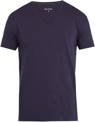 Paul Smith V-neck cotton-jersey pyjama top