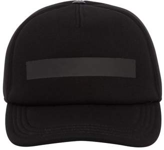 Neil Barrett Printed Neoprene Baseball Hat