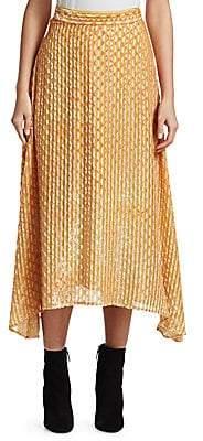 Rachel Comey Women's Gimlet Burnout Midi Skirt