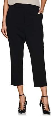Rick Owens Women's Astair Stretch-Wool Drop-Rise Pants
