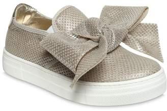 Simonetta Mesh & Leather Slip-On Sneakers