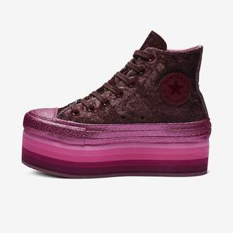 Converse x Miley Cyrus Chuck Taylor All Star Platform Velvet High Top Women's Shoe