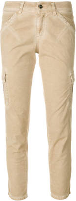 Twin-Set cropped pocket trousers