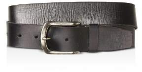 John Varvatos Basic Leather Belt