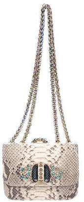 Christian Louboutin Sweet Charity Small Python Bag
