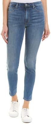 Joe's Jeans Charlie Raven High-Rise Ankle Skinny Leg