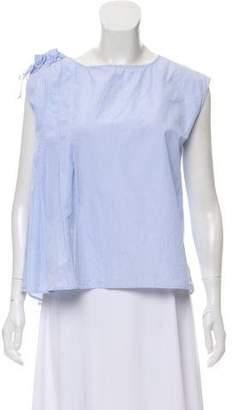 Kiton Sleeveless Printed Blouse