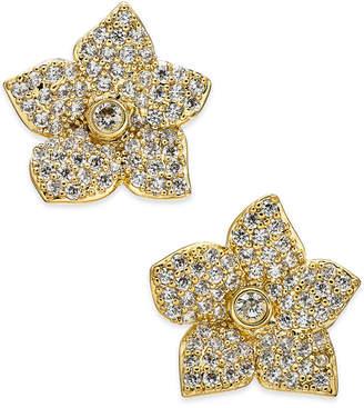 Kate Spade Pavé Flower Stud Earrings