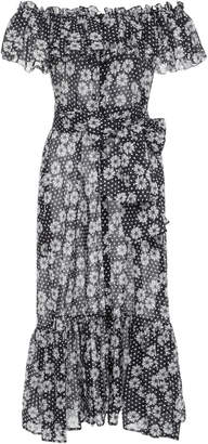 Lisa Marie Fernandez Mira Dasies and Dots Cotton-Voile Dress