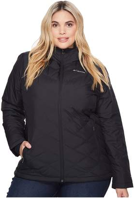 Columbia Plus Size Heavenly Hooded Jacket Women's Coat