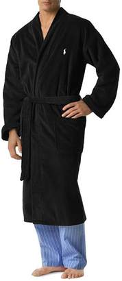Polo Ralph Lauren Men's Kimono Cotton Velour Robe