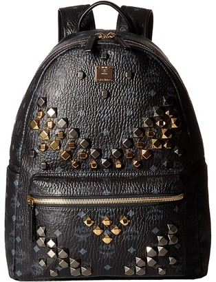 MCM - Stark M Stud Medium Backpack Backpack Bags $980 thestylecure.com