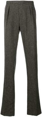 Boglioli straight leg trousers