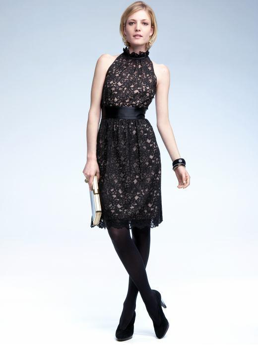 Petite lace lady dress