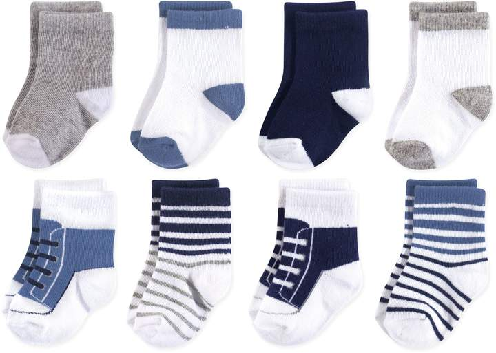 Luvable Friends 8-Pack Crew Socks
