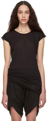 Rick Owens Black Short Sleeve T-Shirt