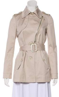 Tod's Double-Breasted Zip-Up Jacket
