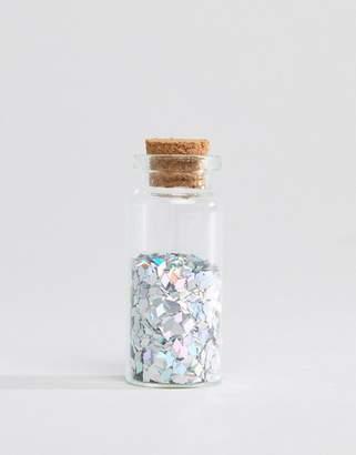 Orelia Holographic Diamond Glitter Pot