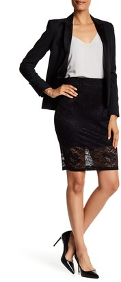 SUSINA Banded Lace Skirt $21.97 thestylecure.com