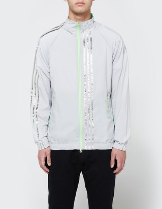 Track Jacket in Light Solar Grey $295 thestylecure.com