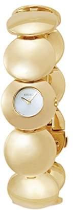 Seiko Women's SUH002 Stainless Steel Analog White Dial Watch