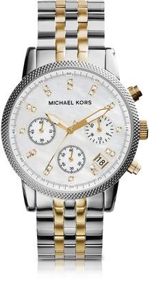 Michael Kors Ritz Two Tone Stainless Steel Women's Watch