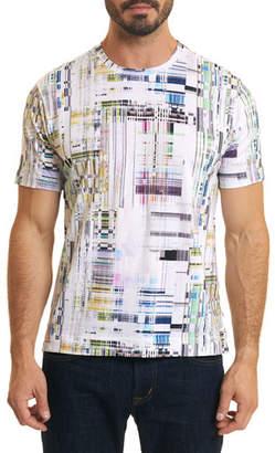 Robert Graham Men's Aquatic Graphic T-Shirt