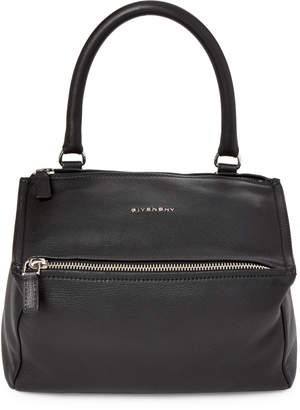 Givenchy Black Pandora Small Leather Satchel