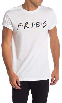Body Rags Short Sleeve Fries Friends Tee