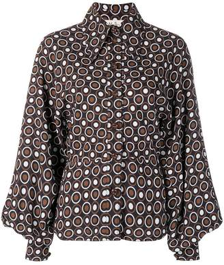 Mulberry dotted print shirt