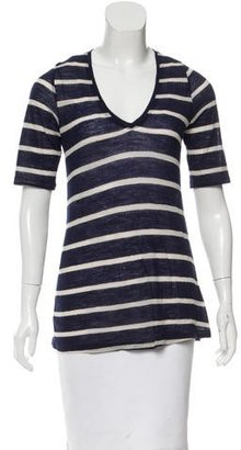 Boy. by Band of Outsiders Striped V-Neck Top $65 thestylecure.com