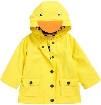 Boden Mini Duck Water Resistant Hooded Raincoat