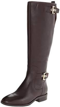 Nine West Women's Bringit Wide Calf Riding Boot