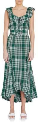 Rosie Assoulin Sleeveless Dress with Peter Pan Collar