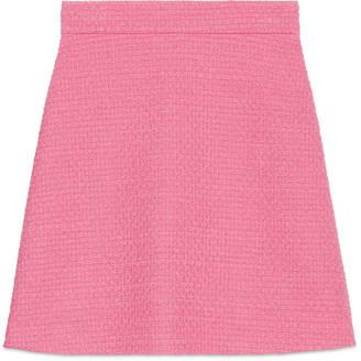 A-line light tweed skirt $890 thestylecure.com