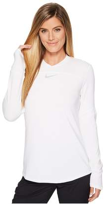 Nike Dry Top Long Sleeve Pullover Women's Clothing