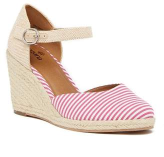 Susina Lily Ankle Strap Wedge Sandal