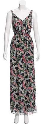 Rebecca Taylor Silk Floral Print Dress