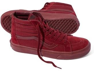 Vans 'Sk8-Hi Reissue Zip' Sneaker $79.95 thestylecure.com
