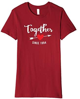 Together Since 1994 Wedding Anniversary Premium T-shirt