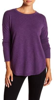 GRIFFEN CASHMERE Round Hem Cashmere Sweater