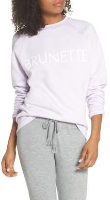 BRUNETTE the Label Brunette Crewneck Sweatshirt