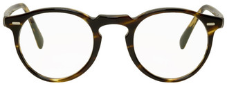 Oliver Peoples Tortoiseshell Gregory Peck Glasses