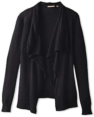 Cashmere Addiction Women's Open Cardigan Sweater