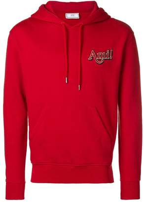Ami Alexandre Mattiussi Hoodie With Ami Embroidery
